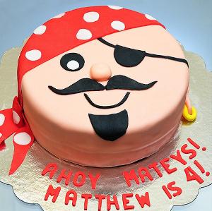 tort twarz pirata