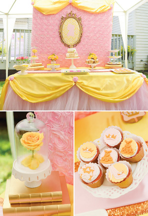 pink-beauty-and-the-beast-party
