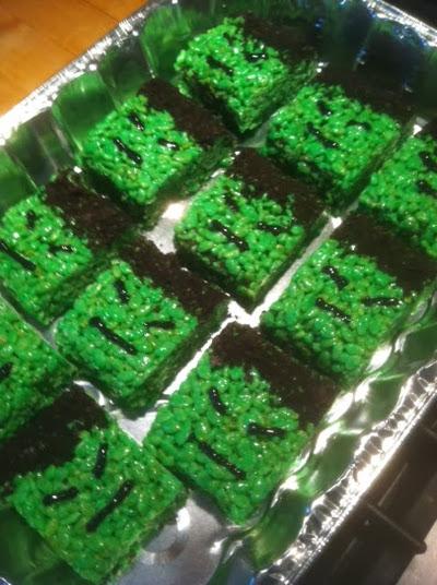 hulk crispy treats