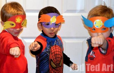 superhero-masks