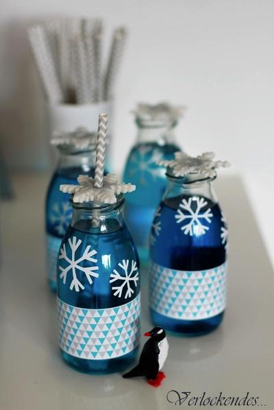 napój niebieski