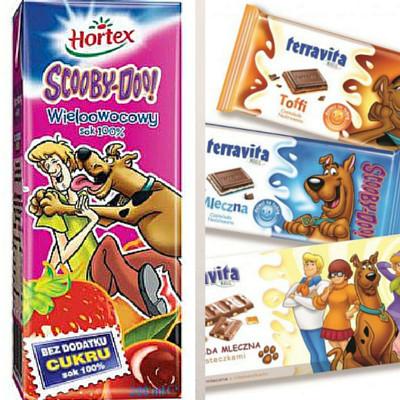 sok i czekolada Scooby Doo