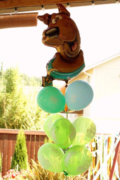 balonowy Scooby