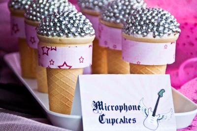 słodkie mikrofony