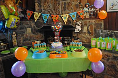 stół Scooby Doo