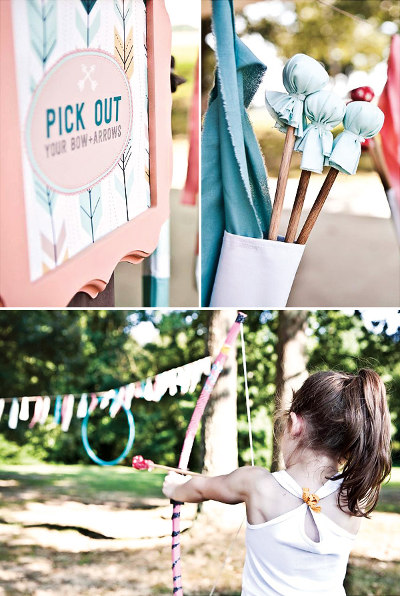 girly-arrow-party-theme