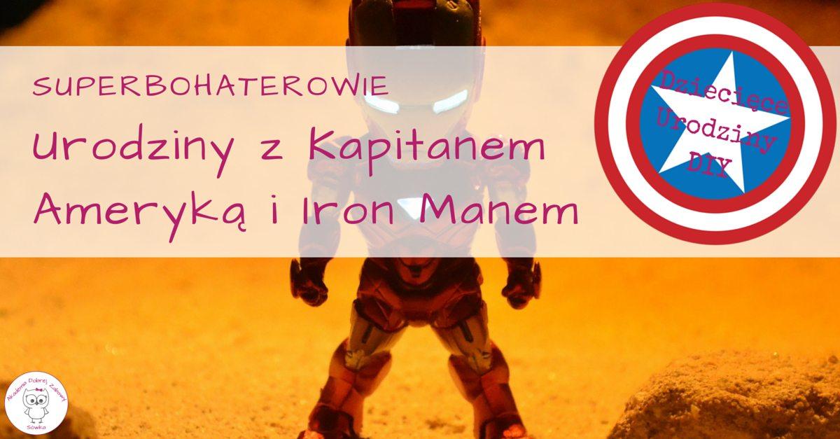 Iron Man Urodziny I Inne Przyjęcia Dla Dzieci